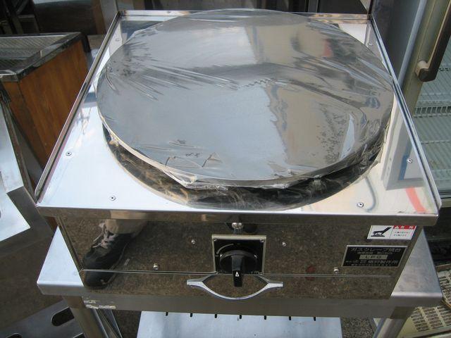 クレープ焼き器