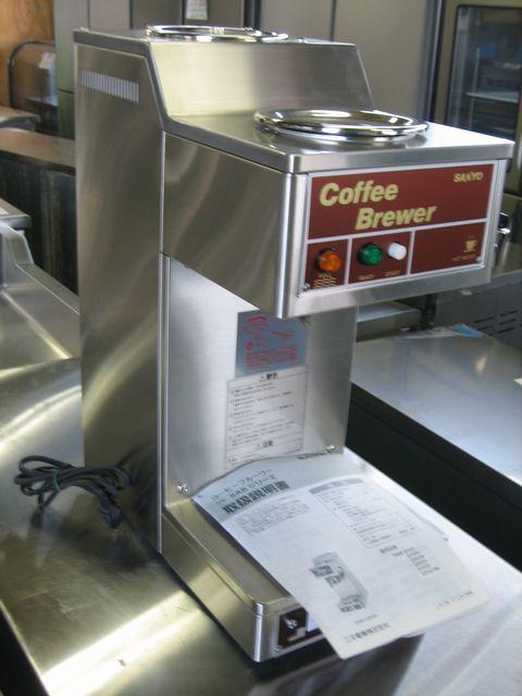 コーヒーブルワー:SAB-2102F(未使用品)